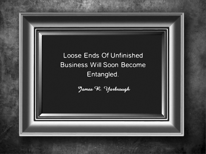 Unfinished Business 1-23-15