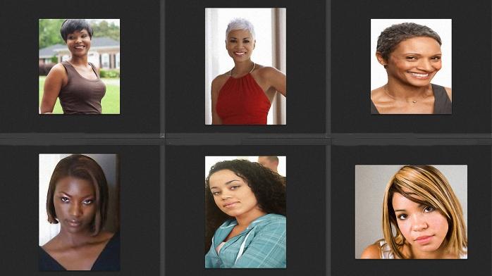Black Women of Different Skin Tones 1-9-15