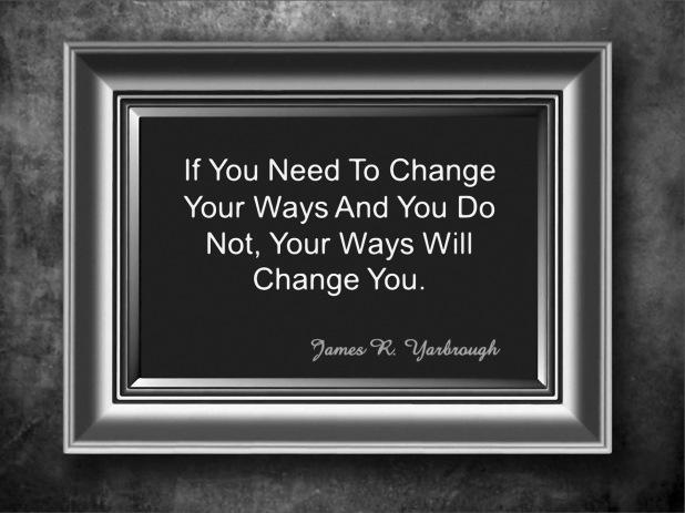 Change Your Ways