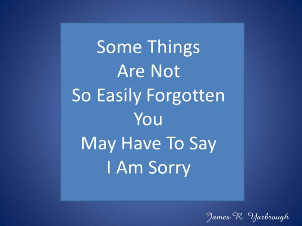 I Am Sorry FB 9-1-12