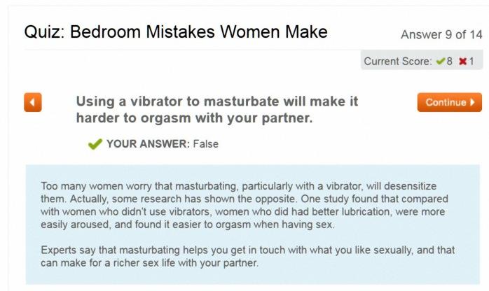 Women Using Vibrator