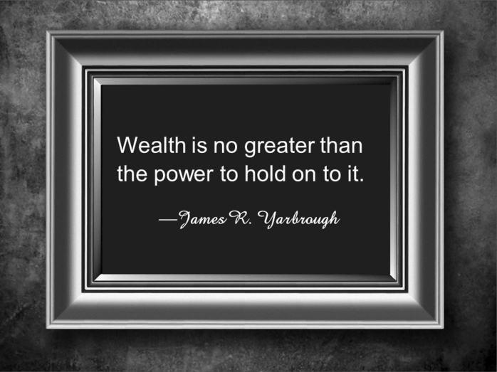 The Power of Wealth 12-23-15