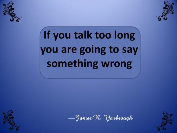 Say Something Wrong