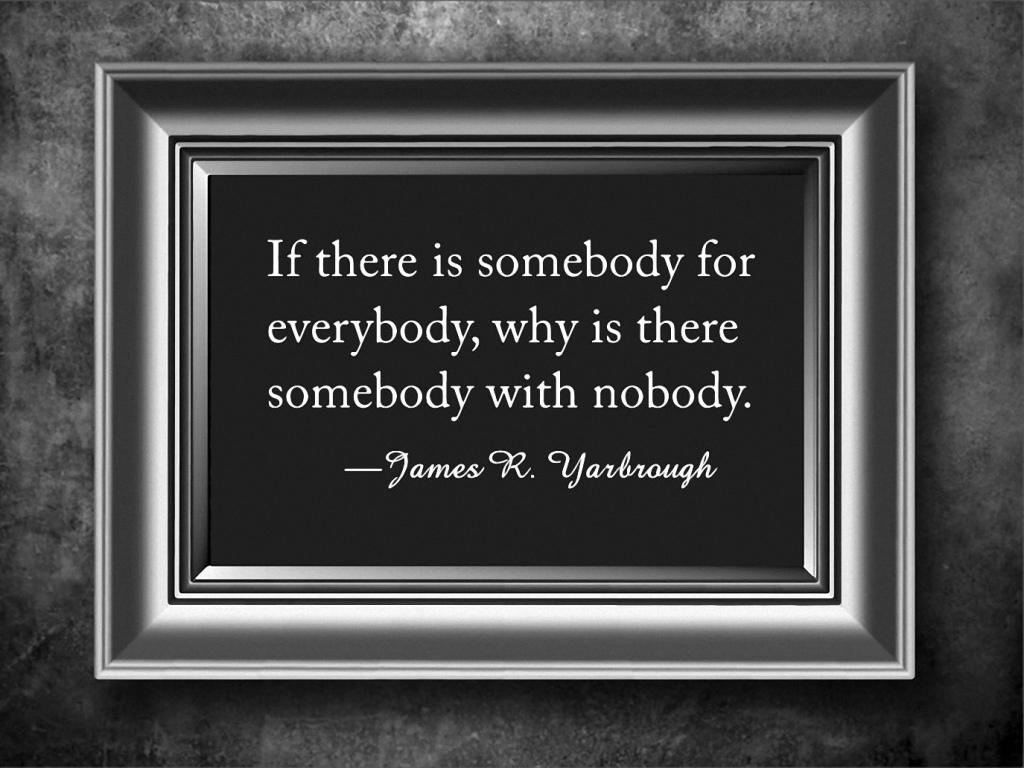 Somebody for Everybody 1-26-16