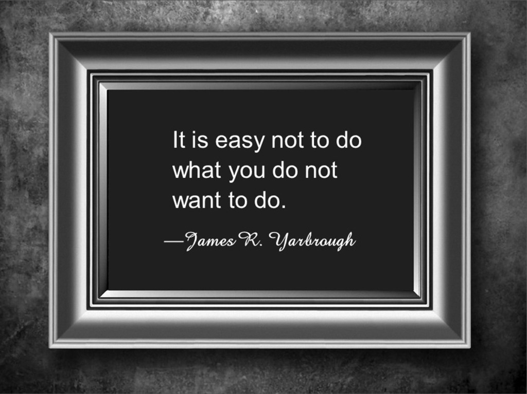 What You Do Not Want To Do 1-7-16