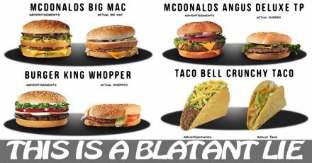 False Advertising (Hamburgers) A Lie 2-17-16