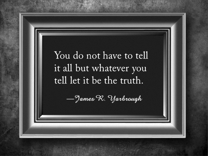 Let It Be The Truth 2-10-16