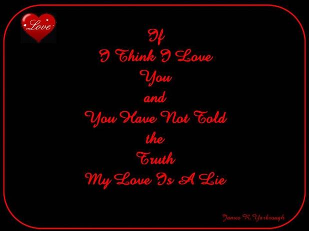 Love Is a Lie