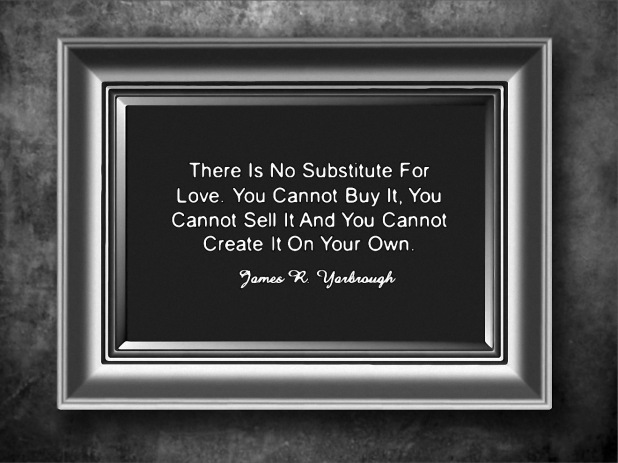 No Substitute for Love 1-23-15