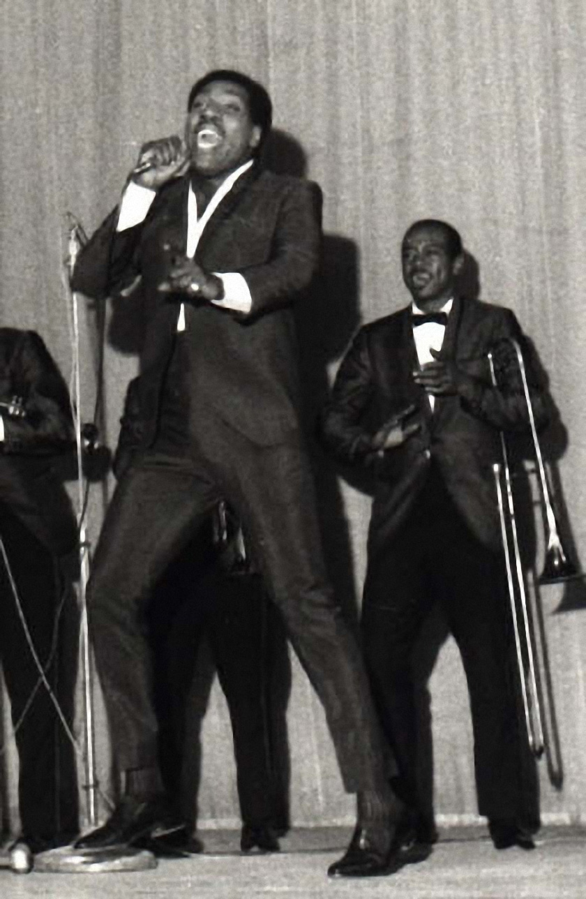 Otis Redding Paris September 10, 1966
