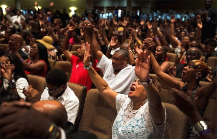 Black Folks Worshiping
