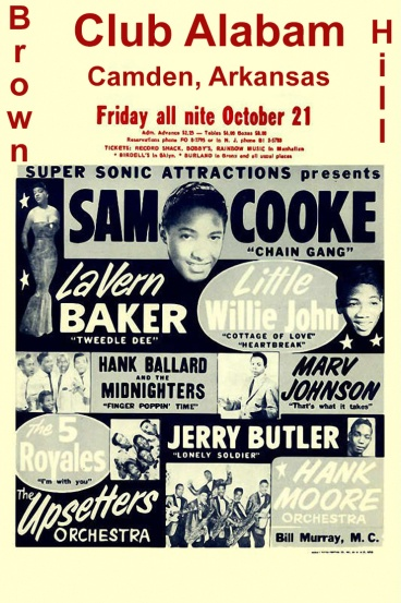 Little Willie John Brown Hill Poster